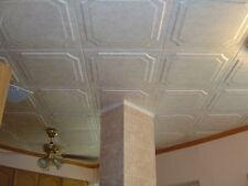 Tin-Look Styrofoam Ceiling Tiles Easy Installation - R8W