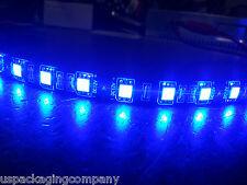 """30cm Blue 12V DC 5050 SMD Flexible Flat LED Strip Rope Light  1ft 12"""" Kit"""