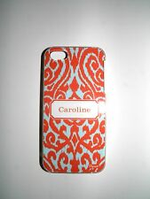 "PERSONALIZED NAME CASE FOR IPHONE 5/5S WITH 2 LAYERS PROTECTION ""CAROLINE"" NEW"