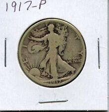 *** Beautiful 1917-P Walking Liberty Silver Half Dollar***