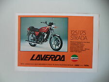 advertising Pubblicità 1979 MOTO LAVERDA LZ 125 STRADA