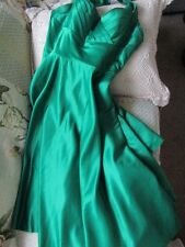 Womens Juniors Plus UNIQUE VINTAGE dress.prom.evenwear [XXXL] kelly green satin.
