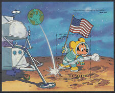 Lesotho 1985 ** Bl.28 DIsney Comics Mickey mouse [st2760]