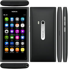 Nokia N9 Black 8MP 16G 3.9 inches WIFI GPS Touch screen Free shipping