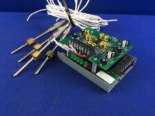 4-Channel RTD Input PCB TC P/N 9611129 ATHENA 807A076U01 With 4 RTD Temp Probes