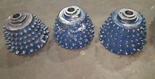 (3) Mining Cone Drill Bits Ht-J0793, V8-2-D-5C, V8-D-5C, Ht-N1181, V8-3-D-5C