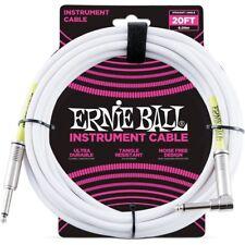 Ernie Ball 6047 Cavo per Strumenti bianco mt 6