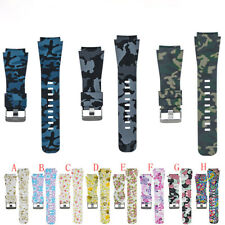 Silicone Printed Replacement Watch Band For Samsung Gear S3/Galaxy Watch 46mm