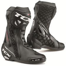 TCX RT-Race Street Track Motorcycle Boots Black Size 8.5 US / 42 EU