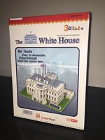 CubicFun Puzzle 3D LA CASA BIANCA The White House 64 Pezzi Sigillato