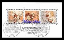 BRD Mi.Nr. 959 - 961 Block 16 Nobelpreisträger 1978 Sonderstempel