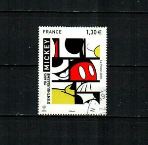 FRANCE ( 1v ) Mickey Mouse 90th F/VF Used ( 2018 ) #1
