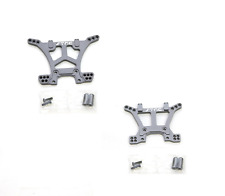 Traxxas Slash 4x4 STRC Gun Metal Aluminum Front & Rear Shock Tower Set 4wd