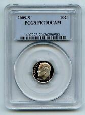 2009 S 10C Roosevelt Dime PCGS PR70DCAM