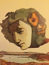 Milton Glaser, Marciume Pen Company surreale POP ART annuncio MINI POSTER 1975 35