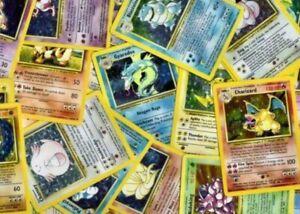 Pokemon TCG Base Set Unlimited - Individual Pokemon Cards - Pick From List!