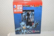 FIGURINE CATWOMAN BATMAN DC COMICS HERO COLLECTION EAGLEMOSS FIGURE NEUF