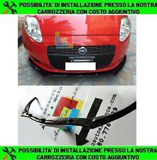 LIP SPOILER SOTTO PARAURTI ANTERIORE PER FIAT GRANDE PUNTO ABS NERO 0024
