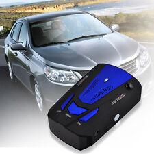360° Car 16 Band V7 GPS Speed Safety Radar Detector Voice Alert Laser Blue
