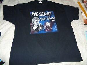 "Rod Stewart & Cini  Lauper  ""  Tee   [ 2 Xl ]    [ 31"