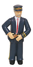 BACHMANN Posable Train Conductor Man G-Scale Figure #92333 Brand New