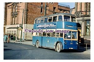 gw0566 - South Shields Trolleybus no 265 in 1959 - print
