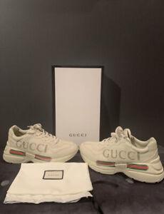 Gucci Rhyton Sneakers W/ BOX & DUST BAG Unisex Style