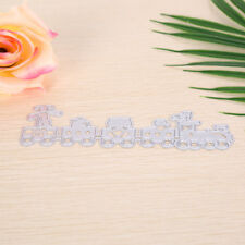 Train Metal DIY Cutting Dies Stencil Scrapbook Album Paper Card Embossing CrN_gu