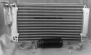 1964 64 Chevy Impala Caprice AC Condenser AC1530 Drier Brackets Made in USA new