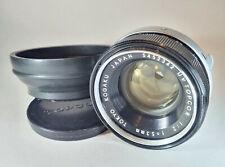 Tokyo Kogaku UV Topcor 53mm f/2 Fast Prime Pancake Lens ⌀49 - Topcon Uni Mount