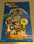 Vintage 1999 Monster Rancher Poster / Unused / 22x34 inches /