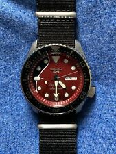 Seiko 5 Brian May Red Special Limited Edition automatic watch SRPE83K1