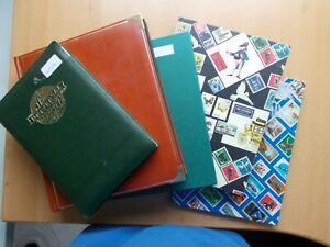 Europe - Mint & used collection in five old stockbooks. See pics below.