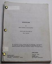 MATCHSTICK MEN / Nick Griffin 2002 Screenplay, Nicolas Cage & Alison Lohman