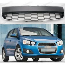 Front Bumper Lower Radiator Grille w/Chrome Trim For Chevrolet Aveo 2011-2016