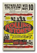 The Rollings Stones NC State Campus Raleigh NC 8x12 Inch Aluminum Sign