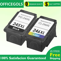 2PK PG-245XL CL-246XL Combo Ink for Canon PIXMA MG2420 iP2820 MG2522 MX490 MX492