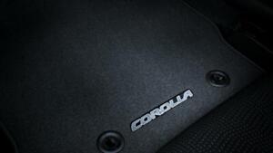 Toyota Corolla Hatch Carpet Floormat Set Grey Aug 2012 Onwards PZQ20-12182