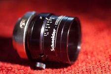 Schneider Xenoplan 28mm f/2.0 C-mount lens, high resolution, 28 2.0 MINT