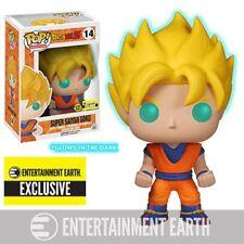 Dragon Ball Z Glow-in-the-Dark Super Saiyan Goku Pop! Vinyl Figure - EE Exclus.