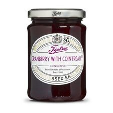 Tiptree Cranberry with Cointreau Conserve (2 Jars x340g) Quality English Jam