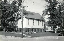 The Congregational Church, Wisner NE RPPC