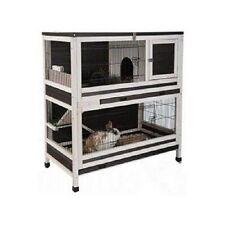 En bois d'intérieur Lapin Cobaye Small Pet Cage Clapier