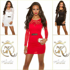 Damenkleider mit Rundhals-Ausschnitt für Cocktail in Größe XS