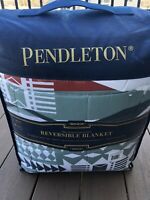 Pendleton Fire Legend Collection Reversible King Blanket 107 x 98 Inches NEW