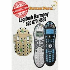 BUTTON REPAIR KIT Logitech Harmony 620 670 H659 Universal Remote Control DIY