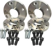 4X 15mm wheel adapters 4x100 to fit 5x100 wheels VW Skoda SEAT Golf 1 2 BMW e30