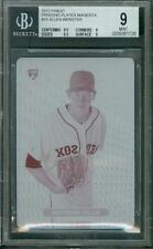 1/1 2013 Finest Printing Plate Allen Webster #15 BGS 9 Sub 9.5 Rookie Red Sox