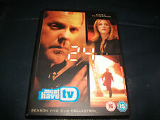 **24 DVD Season 5 Collection Rated 15 Good Condition**