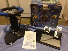 Intec Racing Wheel  Playstation, PS1, PS2, Xbox  Nintendo GameCube Game Cube